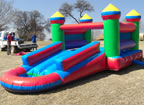 3-in-1 Jumping Castle
