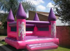 Barbie Jumping Castle
