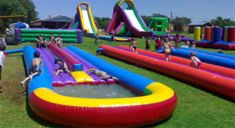 Waterslides for Hire in Durban