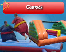 Gaming Inflatables for hire