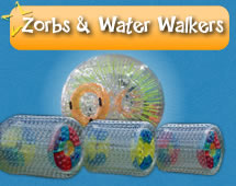 Zorbs & Water Walkers for hire