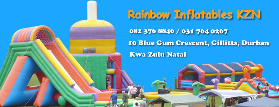 Rainbow inflatables KZN Office