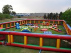 Inflatable Paintball Battle Field:1