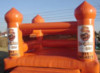 Hot Orange Realty Jumping Castle (Ad)