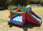 Poolside Jumping Castle