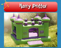 Harry Potter Jumping Castle for hire