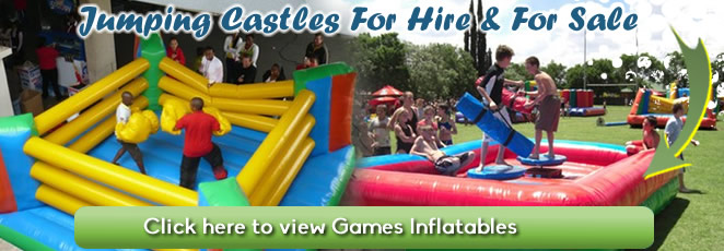 Gaming inflatables