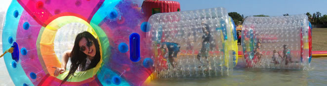 Water Walkers and Zorb Balls for sale