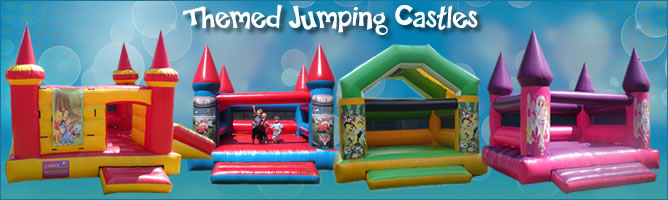 Themed jumping castles for hire